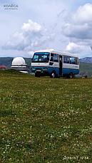 Поездки по туристическием маршрутам на автобусе-вездеходе Fuso Rosa, фото 2