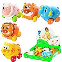 Развивающая игрушка для малышей Веселый зоопарк от Hola Toys