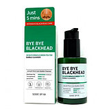 Маска-пенка от чёрных точек SOME BY MI Bye Bye Blackhead 30 Days Miracle Green Tea Tox Bubble Cleanser, фото 6
