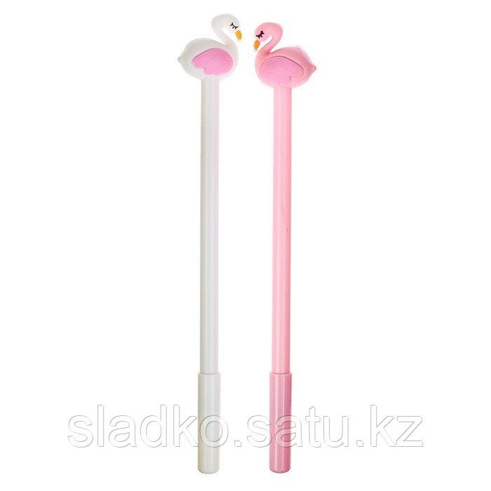 Ручка гелевая Фламинго - фото 1