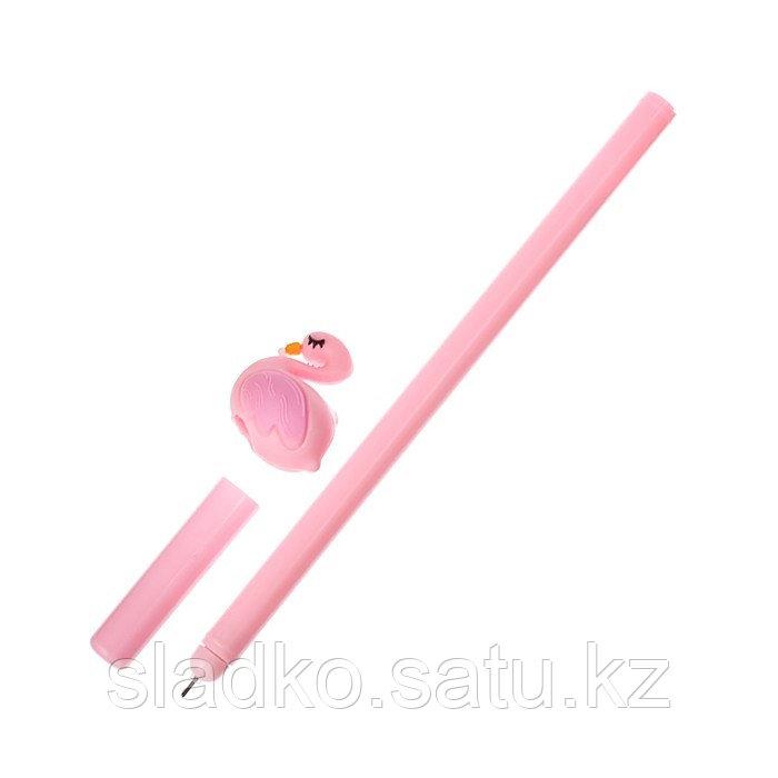 Ручка гелевая Фламинго - фото 2