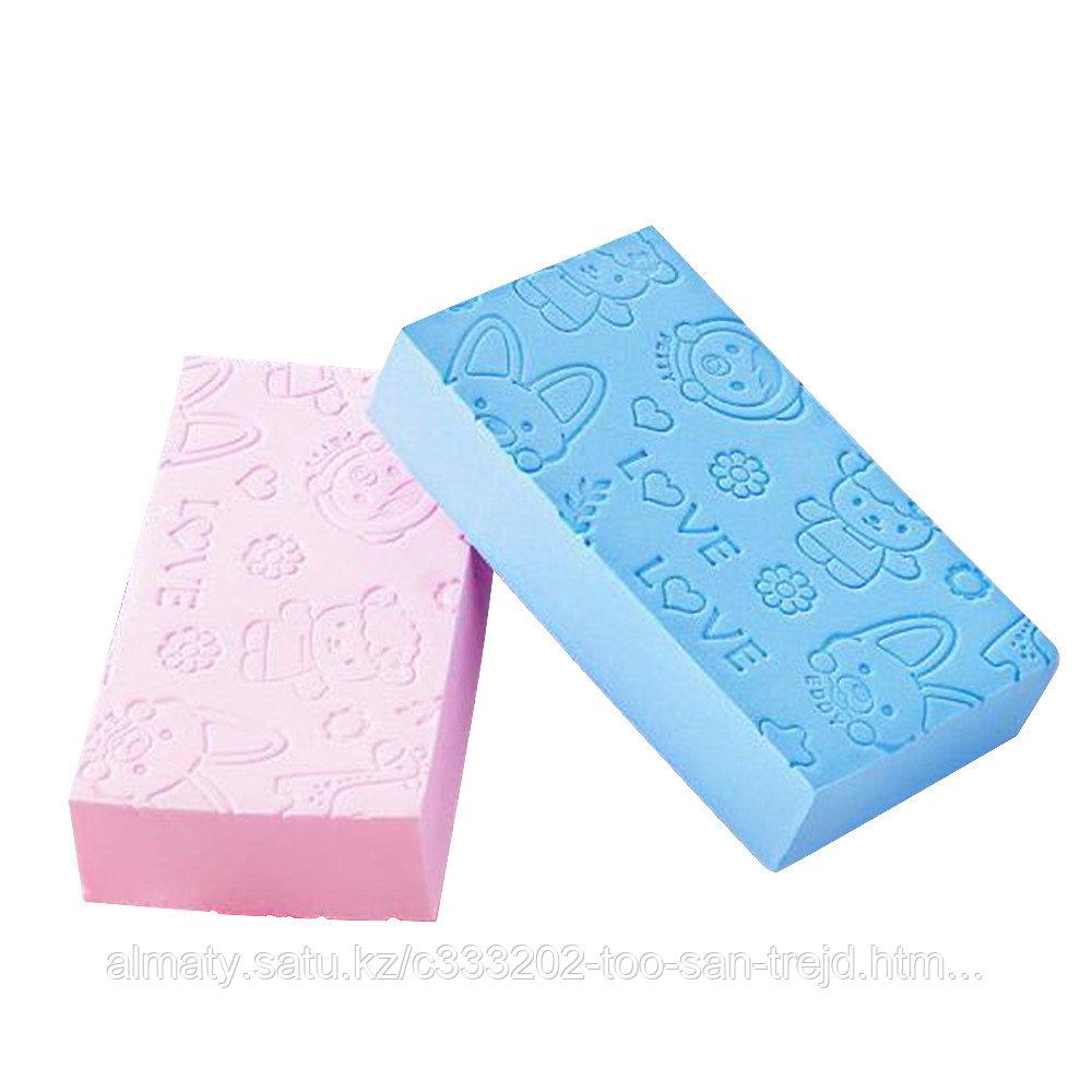 Губка -скраб для ванны и душа
