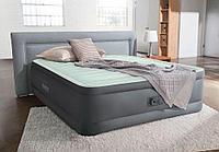 64906 Надувная кровать Premaire Elevated Airbed 152х203х46см, встроенный насос 220V
