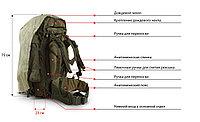 Рюкзак армейский 70 литров (стандарт НАТО) + складной внутренний всепогодный каримат.