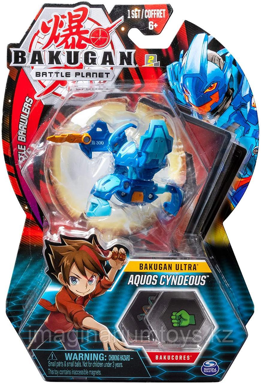Bakugan Ultra Aquos Cyndeous игрушка-трансформер Бакуган