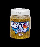 Слайм «Crystal slime», золотой, 250г