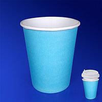 Виридо Стакан бумажный 350мл для горячих напитков тиффани 50 шт/уп