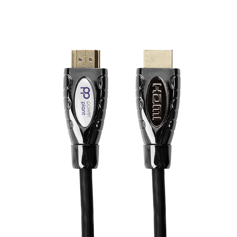 Видeo кабель PowerPlant HDMI - HDMI, 1.5m, позолоченные коннекторы, 2.0V, Double ferrites, Highspeed