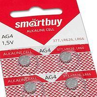 Батарейка LR66 Smartbuy Alkaline Cell AG4 (377, LR626, LR66)