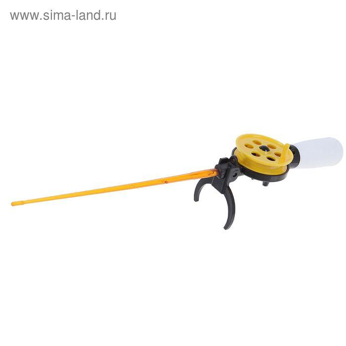 Удочка зимняя «Пирс», ПК50 - М, с короткой пенопластовой ручкой (АБС) ЧЖ - фото 2