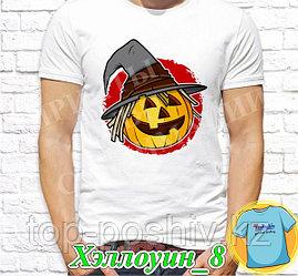 """Футболка с принтом """"Хэллоуин"""" - 8 """""""