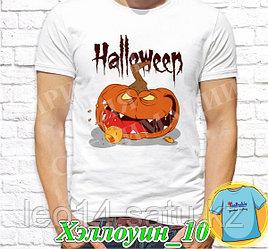 """Футболка с принтом """"Хэллоуин"""" - 10"""""""