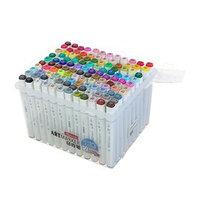 Набор маркеров Superior, профессиональные, двусторонние, наконечник мягкая кисть, 120 штук, 120 цветов, MS-837