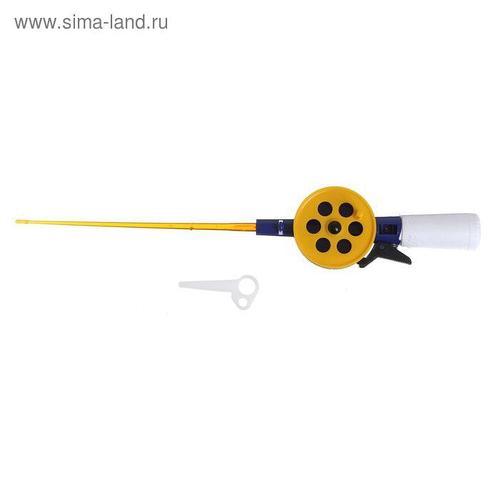 Удочка зимняя «Пирс», ПК55 - М, с короткой пенопластовой ручкой (АБС) СЖ