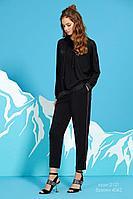 Женские осенние черные брюки Rami 4062 черные 42р.