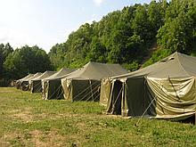 Армейская палатка военная из материала Оксфорд до 15 чел.+Доставка бесплатная!