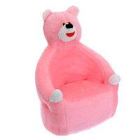 Мягкая игрушка-кресло 'Медведь', цвета МИКС