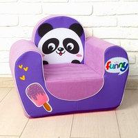 Мягкая игрушка-кресло 'Панда'