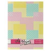 Бизнес-блокнот А6, 80 листов 'Пастельные цвета', твёрдая обложка, глянцевая ламинация (комплект из 3 шт.)