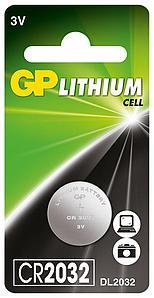 Батарейки GP CR2032 С1