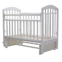 Кроватка детская 'Лира-5', универсальный маятник, без ящика, размер 119 x 60 см, белый