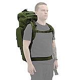 Рюкзак НАТО экспедиционный армейский (туристический) 65 л., фото 6