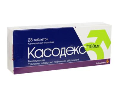 Касодекс Casodex (Бикалутамид Bicalutamide) 50 мг, 150 мг 28 таб.