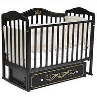 Кроватка 'Кедр' Helen-5, универсальный маятник, ящик, цвет шоколад