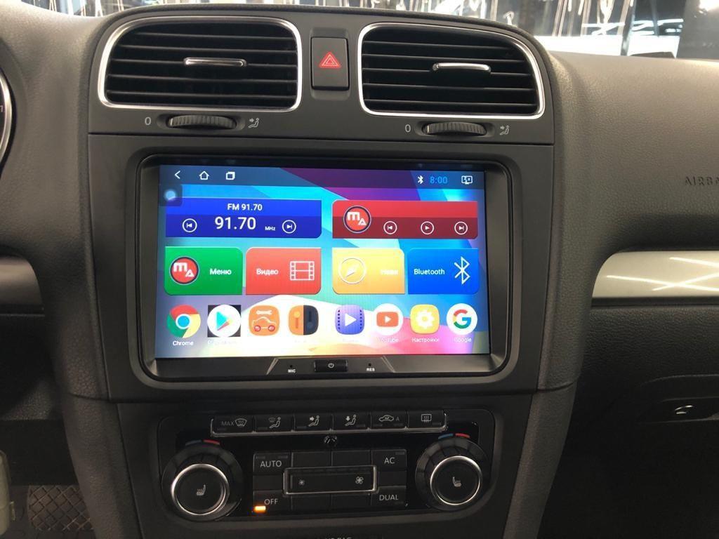Магнитола Volkswagen Polo Android Mac Audio