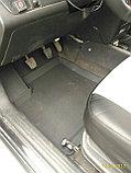 Резиновые коврики с высоким бортом для Chevrolet Aveo T250 (2003-2011), фото 2