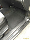 Резиновые коврики с высоким бортом для Chevrolet Aveo T250 (2003-2011), фото 3