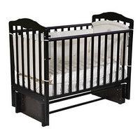 Кроватка детская Helen 2, автостенка, универсальный маятник, цвет шоколад