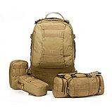 Рюкзак армейский 50л с 3-мя съемными подсумками., фото 8