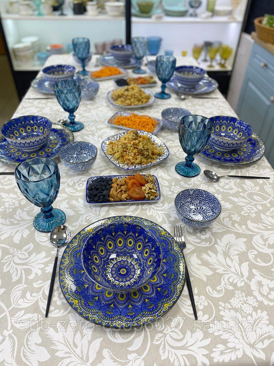 Сервиз керамической посуды «ВОСТОК» на 6 персон