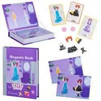 Развивающая игра Magnetic Book Кокетка