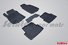 Резиновые коврики с высоким бортом для Chevrolet Aveo II 2011-н.в.