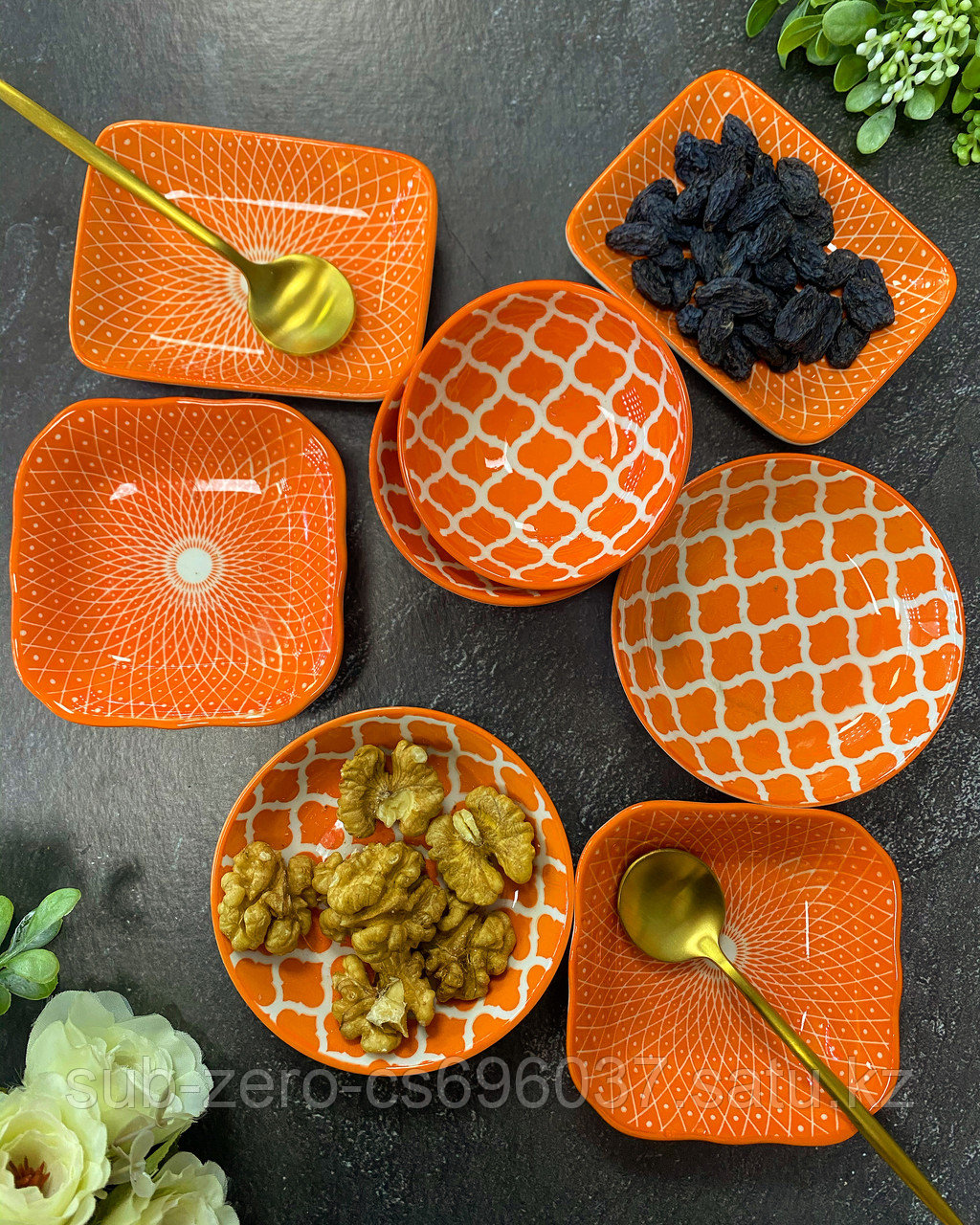Керамические соусницы различных форм