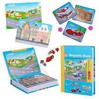 Развивающая игра Magnetic Book Весёлый транспорт