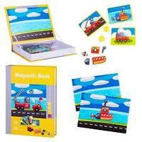 Развивающая игра Magnetic Book Юный инженер