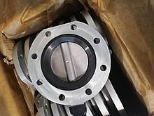 Затвор дисковый поворотный ДУ100 Ж83-Р1200-01