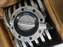 Затвор дисковый поворотный ДУ125  Ж83-Р1200-01