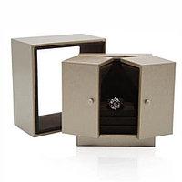 Ювелирная коробочка премиум класса. Золотой, фото 1