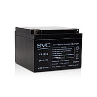 Батарея свинцово-кислотная SVC VP1224 (12В, 24 Ач), фото 1