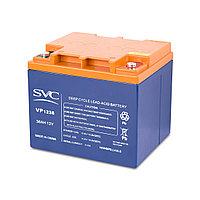 Батарея свинцово-кислотная SVC VP1238 (12В, 38 Ач)