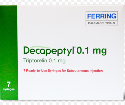 Декапептил (трипторелин) Decapeptyl (triptorelin) 0,1 мг №7 амп. (Европа)
