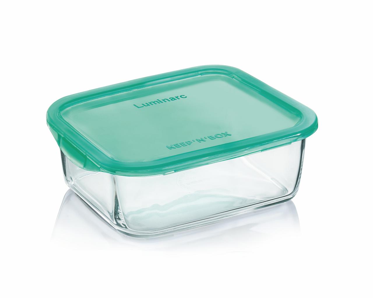 Пищевой контейнер прямоугольный Luminarc Keep'n Box Lagoon 820 мл (P5518)