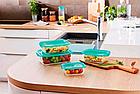 Пищевой контейнер прямоугольный Luminarc Keep'n Box Lagoon 820 мл (P5518), фото 2