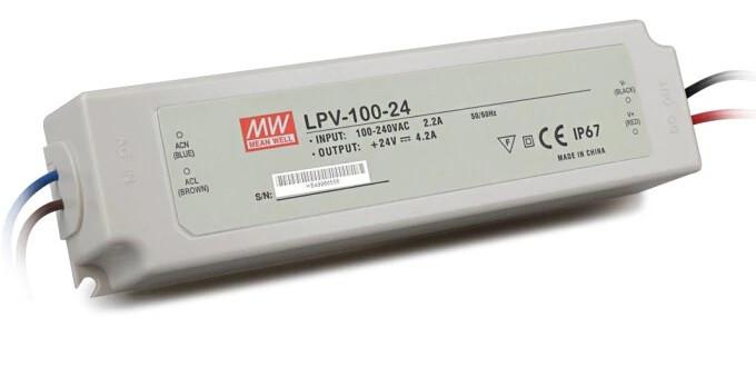Блок питания Mean Well LPV-100-24