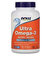 Now Foods, Ультра омега-3, 180 мягких желатиновых капсул