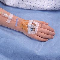 Прозрачная пленочная повязка Tegaderm I.V., с кромкой для закрытия ран и фиксации катетеров